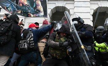 Imagen del asalto al Capitolio de EEUU el pasado 6 de enero