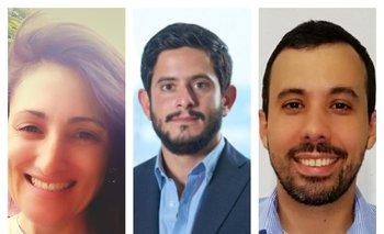 Paula Rocha, Rodrigo Capdeville y Juan Espinosa