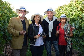 Fernándo Grassi, Laura Acevedo, Alejandro Suzacq y Ornella Grassi