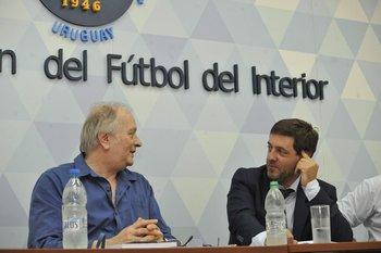 Mario Cheppi, presidente de OFI, e Ignacio Alonso, presidente de AUF
