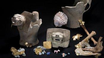 El hallazgo es extraordinario porque las piezas estaban todas asociadas y en contexto, lo que permite comprender los rituales del estado de Tiwanaku