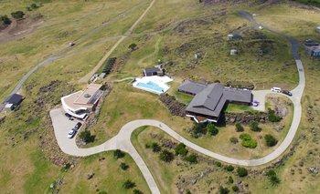 El Gran Chaparral, la mansión del empresario argentino Marcelo Balcedo en el departamento de Maldonado