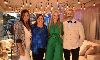 Leticia Copiz, Gabriela Páez, Noelia Copiz y Nicolás Strata
