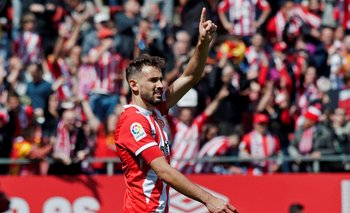 Con 57 goles Cristhian Stuani es el goleador histórico de Girona