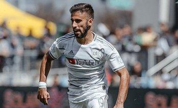 Diego Rossi, marcó 3 goles para Los Angeles FC que lideran la MLS