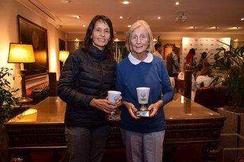 Mercedes Marqués y Sheila Rumassa