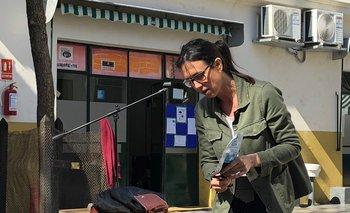 Gabriela Schimchak en el colegio St.Andrew