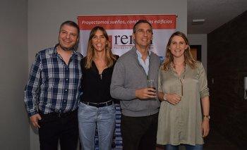 Daniel, Raquel, Ari y Debora Rener