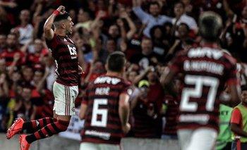 De Arrascaeta ganó con Flamengo el torneo estadual carioca