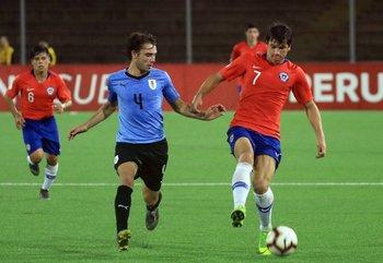Pedro Milans de Uruguay y Gonzalo Tapia de Chile.