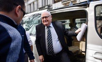 Gavazzo estaba internado en el Hospital Militar