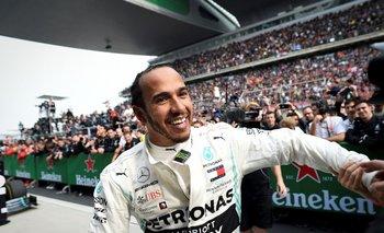 Hamilton ganó en China el GP 1.000 de la historia de la F1
