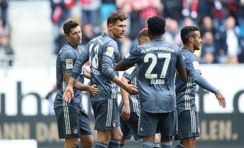 Bayern Múnich ganó en Dusseldorf y camina hacia una nueva Bundelisga