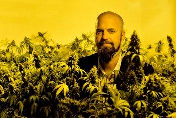 Presidente de la Cámara de Empresas de Cannabis Medicinal, Marco Algorta
