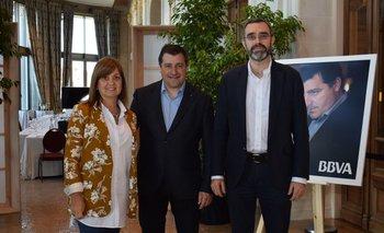 Rosario Corral, Josep Roca y Alberto Charro