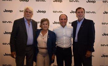 Juan Carlos Gorini, Marta Penades, Domenico Cappelli y Eduardo Payovich