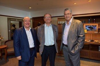 Fernándo Planes, Gerardo Olave y José Scarrone
