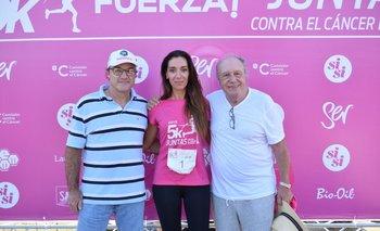 Martin Armand Ugon, Paola Bianco y Álvaro Luongo