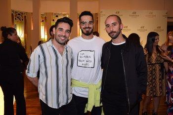 Santiago Machin, Joaquin Delgado y Gaston Gadda