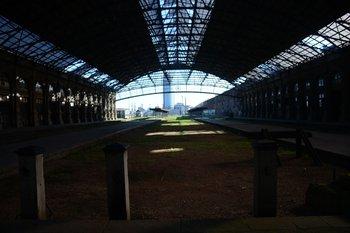 """La Estación Central fue una obra del arquitecto Luis Meoni y se inauguró en 1897 a instancias de la empresa """"Central Uruguay Railwas, Ltda."""""""