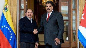 Los gobiernos de Daniel Ortega y de Nicolás Maduro fueron sancionados por Estados Unidos.