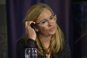 La presidenta de Ancap, Marta Jara, llegó al ente petrolero desde Gas Sayago en 2016