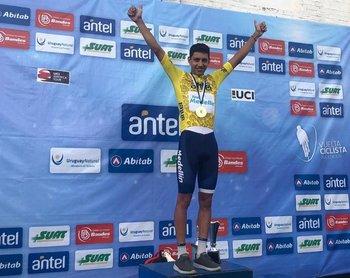 Walter Vargas, del Team Medellín de Colombia