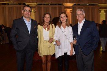 Omar Ichuste, Joaquina Mengot, Victoria Ferreiro y Eduardo Cansa