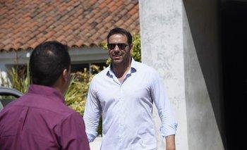Ignacio Ruglio terminó muy molesto con el arbitraje de Andrés Matonte