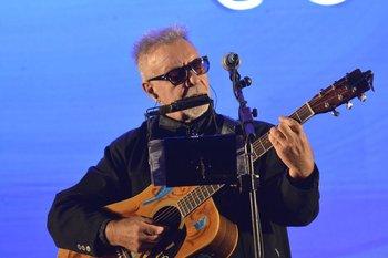 León Gieco, archivo de su visita a Uruguay