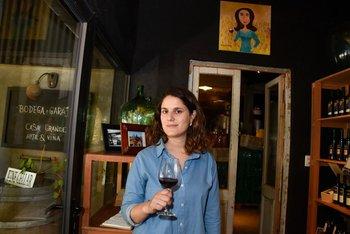 Florencia de Maio, enóloga de Casa Grande