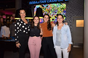 Daniela Pereyra, Fernanda Bidegain, Jessica Chjaramelo y Valentina Peña