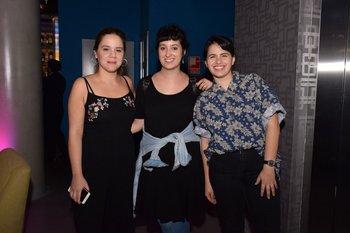 Verónica Bello, Belen Fourment y Rosalia Souza