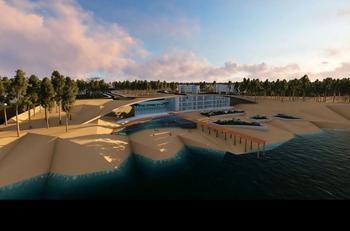 "Hotel ""Resort Duna"" que se proyecta para Aldea del Pinar"