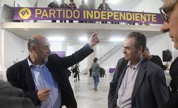El senador Pablo Mieres y el académico Renato Opertti
