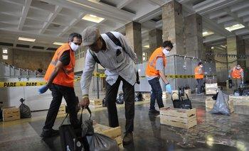 La IMM entregará 10 mil canastas, sobre todo destinadas a trabajadores sociales y quienes no están incluidos en los planes del Mides