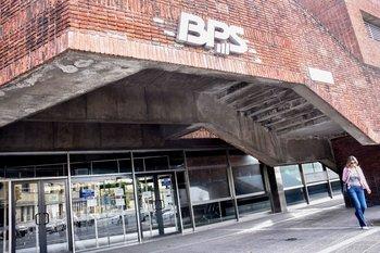 Fachada del Banco de Previsión Social