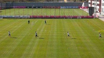 Bayern Múnich volvió a los entrenamientos