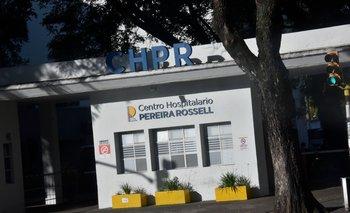 El niño está internado en el CTI pediátrico del Centro Hospitalario Pereira Rossell