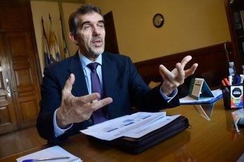 Miguel Asqueta, director general de Salud