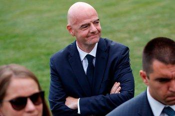 Infantino, presidente de FIFA