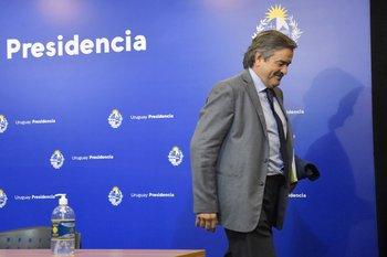 Uriarte habló tras su salida del Ministerio