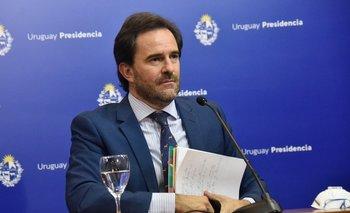 Ministro de Turismo, Germán Cardoso, en conferencia de prensa