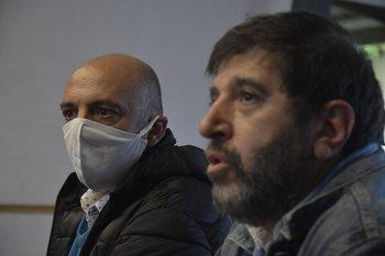 Marcelo Abdala y Fernando Pereira