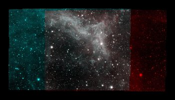 Nebulosa de California en detalle.