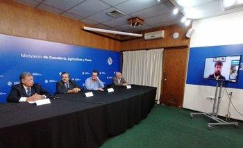 Fernando Mattos, Carlos María Uriarte, Pablo Bartol e Ignacio Elgue.