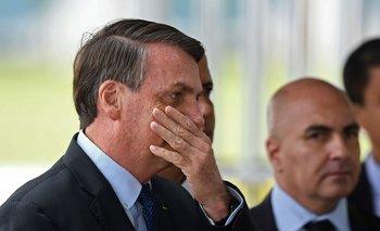 Jair Bolsonaro en el Palacio de la Alvorada, la residencia oficial del presidente