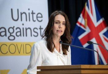 La primera ministra de Nueva Zelanda, Jacinda Ardern