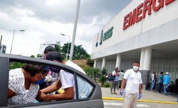 La pandemia ha causado caos los hospitales de Guayaquil, donde vive la supuesta víctima.