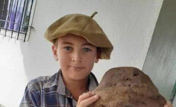 Bruno Echeverría tiene 11 años y vive en Casupá.